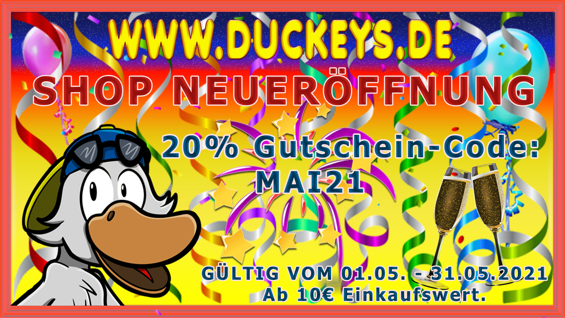 Duckeys Aktion